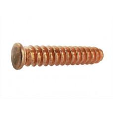 Приварная шпилька с крупной резьбой SC из омедненной стали