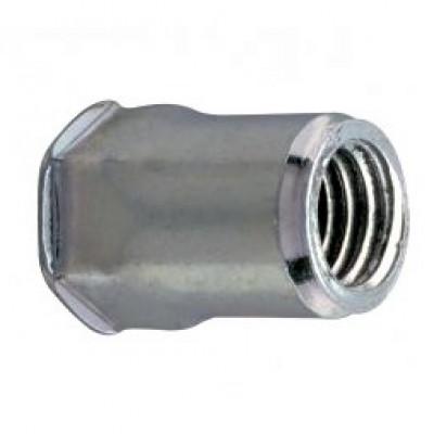 Полушестигранные открытого типа малый бортик из оцинкованной стали