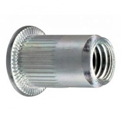 Резьбовые заклепки открытого типа стандартный бортик из оцинкованной стали