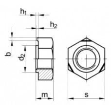 Приварные гайки квадратные DIN 928