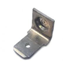 Приварной однолепестковый контакт из алюминия