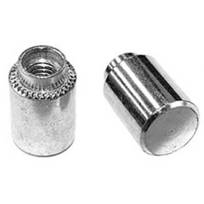 Развальцовочная резьбовая втулка (бонка) глухая, сквозная ОСТ 4Г 0.822.003