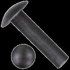 Заклепки под молоток DIN 674 (ГОСТ 103002-80) из нержавеющей стали