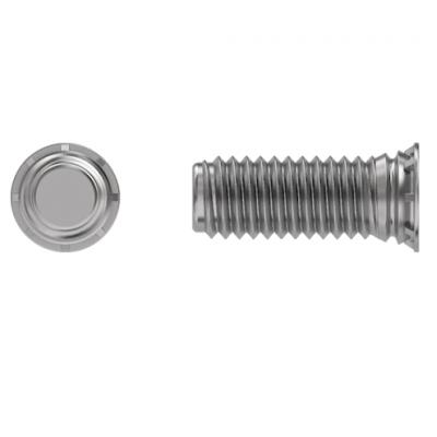 Шпилька запрессовочная резьбовая FHL оцинкованная сталь для крепления тонколистовом металле