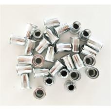 Резьбовые заклепки открытого типа стандартный бортик из нержавеющей стали