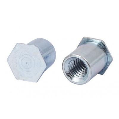 Втулка запрессовочная «глухая» BSOА из алюминия