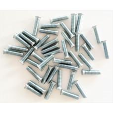Шпилька резьбовая запрессовочная FHS, CHS, CHS4 из нержавеющей стали