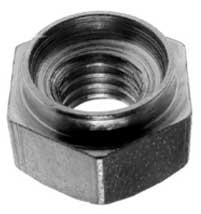 Развальцовочная шестигранная гайка (бонка) тип HX (HHB)